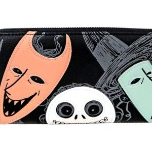 4 Loungefly Nightmare Before Christmas wallets